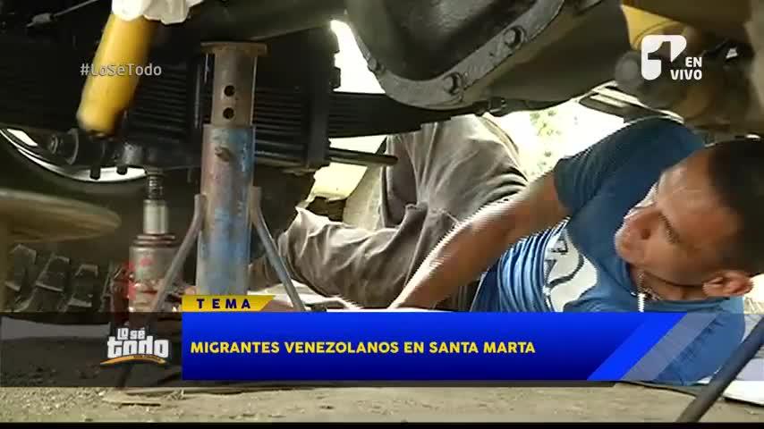 Alcaldía de Santa Marta pide ayuda al Gobierno para enfrentar crisis humanitaria de inmigrantes