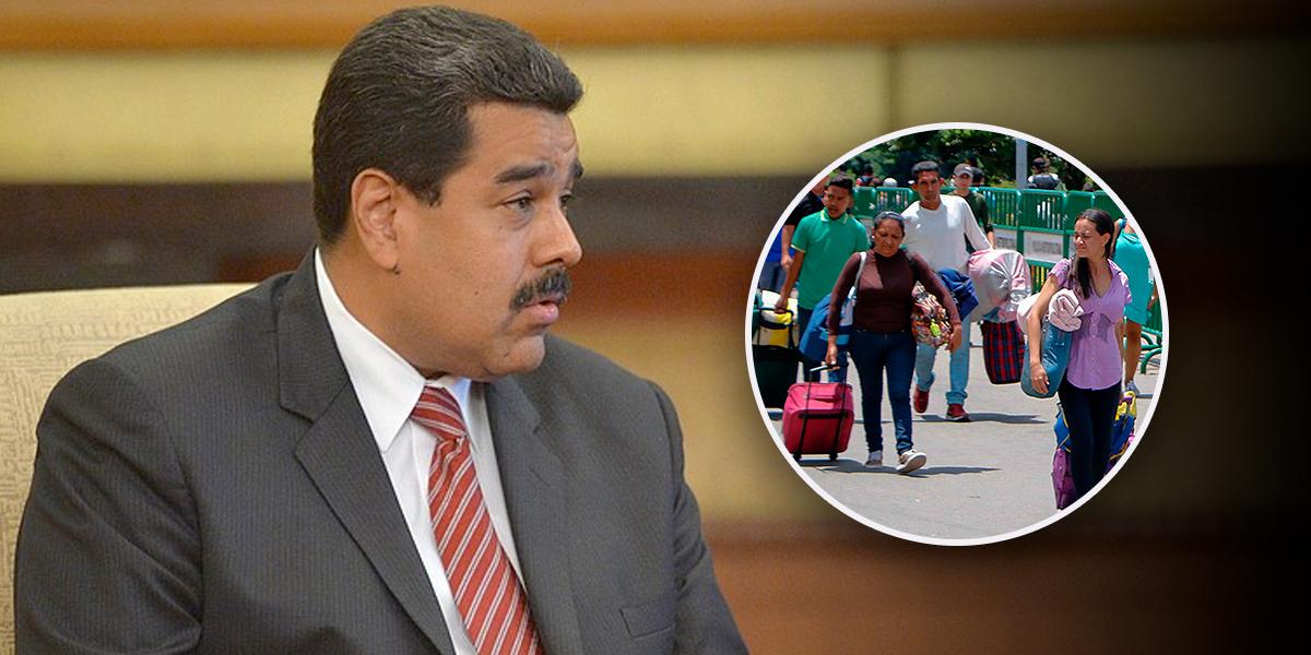 Maduro pide crear un 'puente aéreo' para el retorno de venezolanos