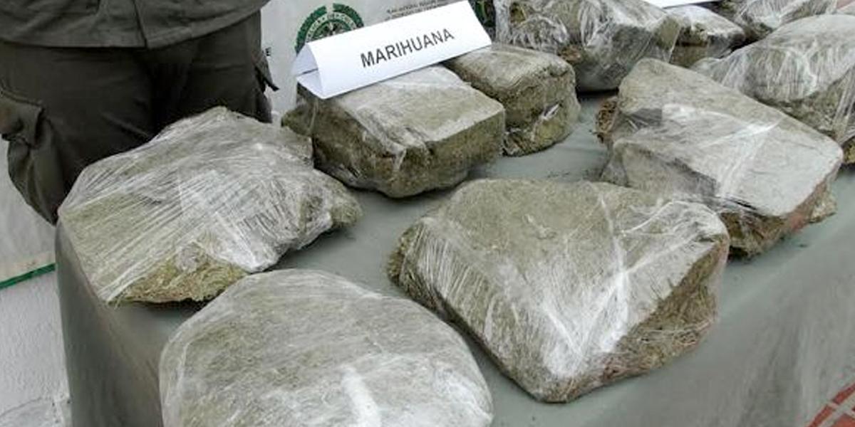 Incautan más de dos toneladas de marihuana que era transportada hacia Venezuela en Tolima