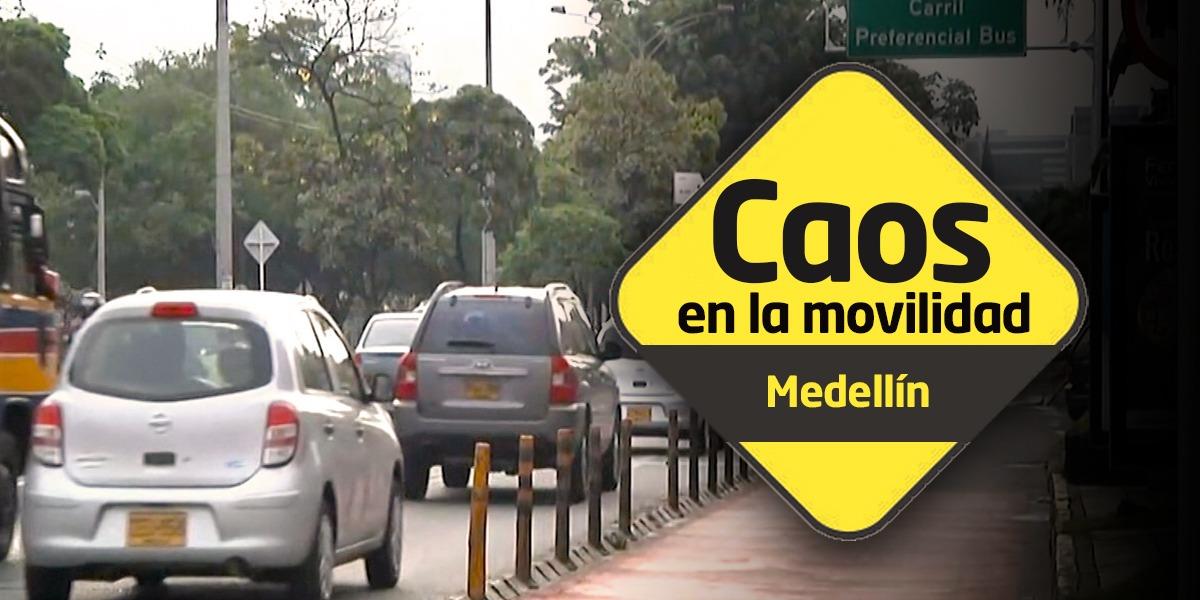 Especial 'Caos en la movilidad': Medellín