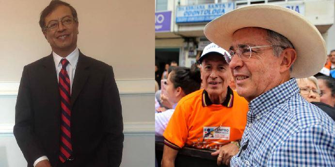 Uribe le respondió a Petro por Twitter sobre la creación de las Convivir