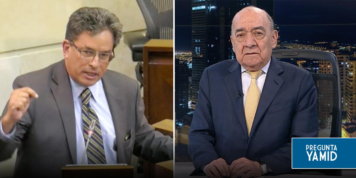 Así fue el debate de control político en contra del ministro Alberto Carrasquilla