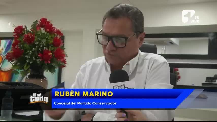 Concejal Marino responde a denuncia de su esposa por maltrato