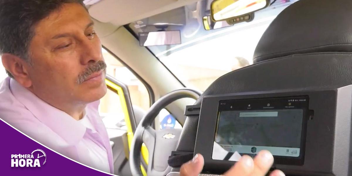 Se reactiva la implementación de tabletas para taxis en Bogotá