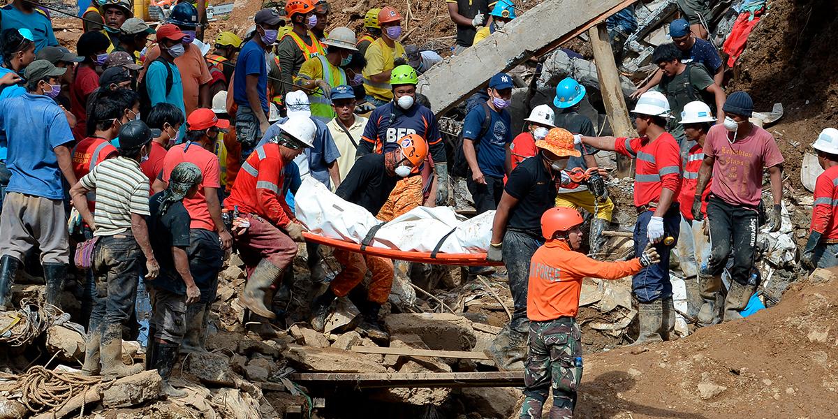 Ascienden a 74 los muertos en Filipinas por el tifón Mangkhut