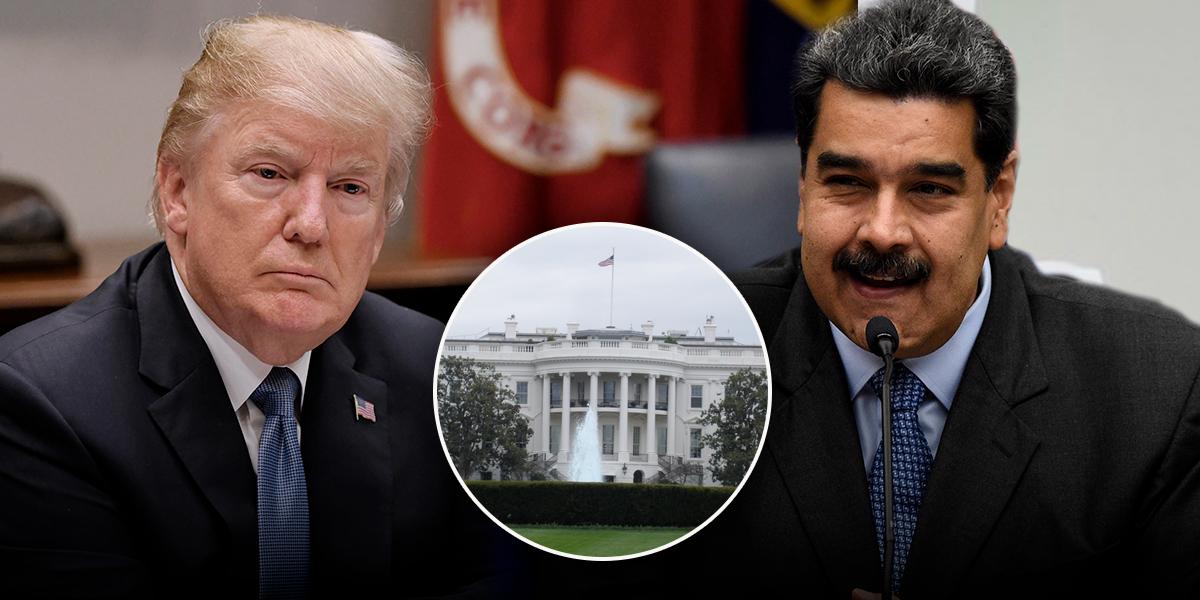 'No está en los planes una reunión entre Donald Trump y Nicolás Maduro': Casa Blanca