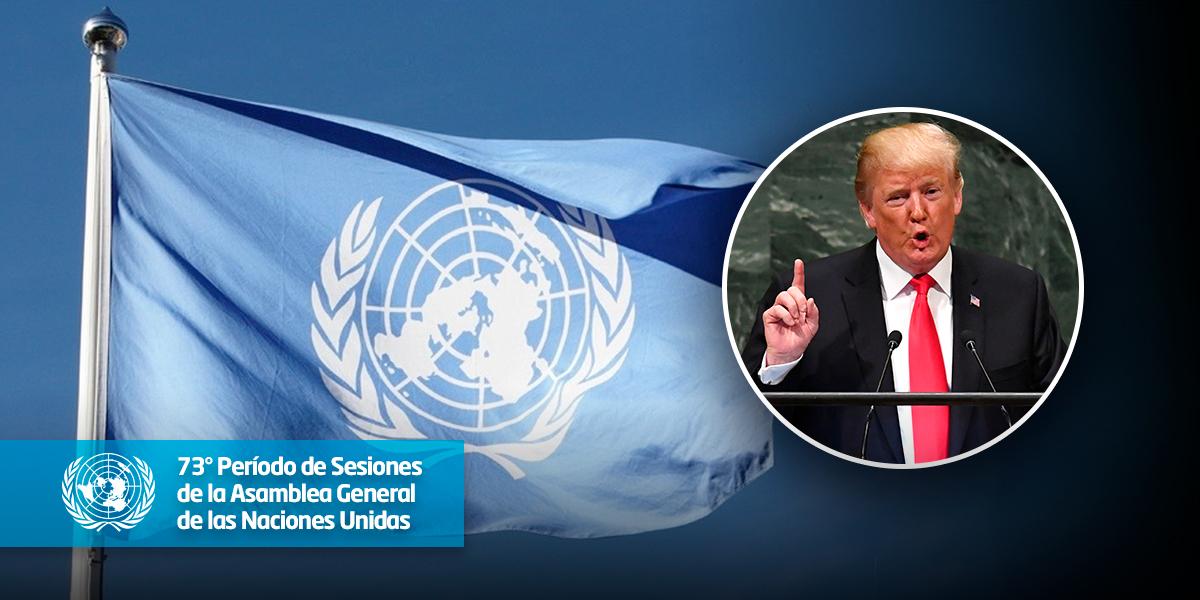 EE.UU. limita su contribución a misiones de paz de ONU y dará ayuda solo a sus 'amigos'