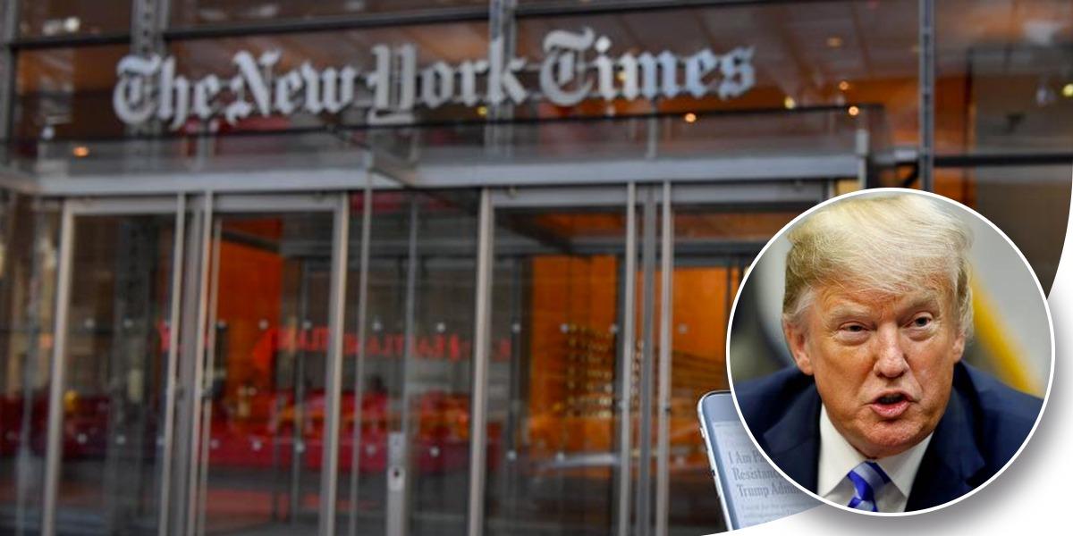 Trump insiste en desenmascarar al autor del polémico artículo de 'The New York Times'