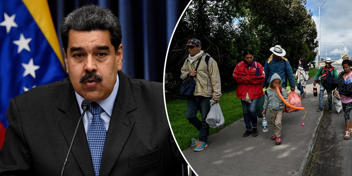 Maduro dice que pedirá USD 500 millones a ONU para repatriar a migrantes