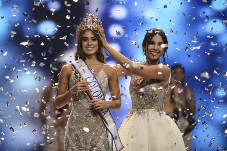 La nueva señorita Colombia causa revuelo al confesar de qué equipo es hincha