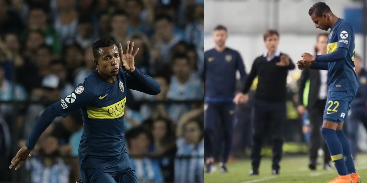 El baile del futbolista Sebastián Villa que causó polémica en Argentina