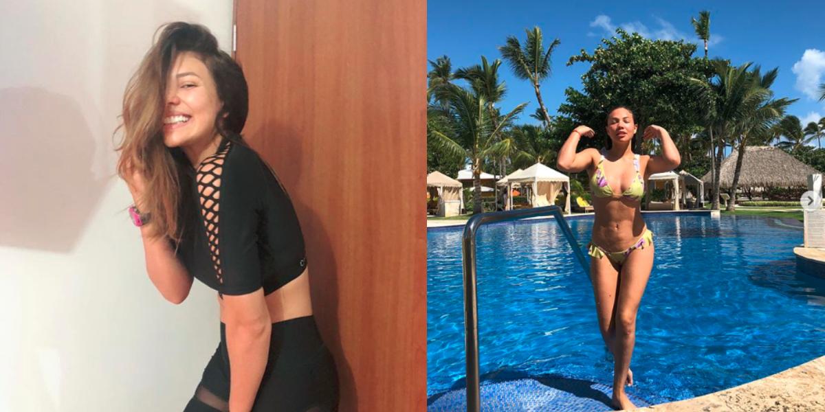 El 'cuerpazo' que Luisa Cortina luce a sus cuatro meses de embarazo