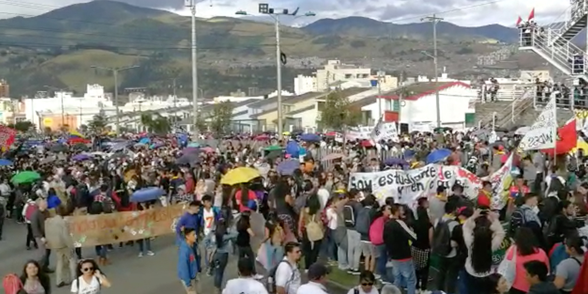 Estudiantes de la Universidad de Nariño piden al Gobierno una solución real