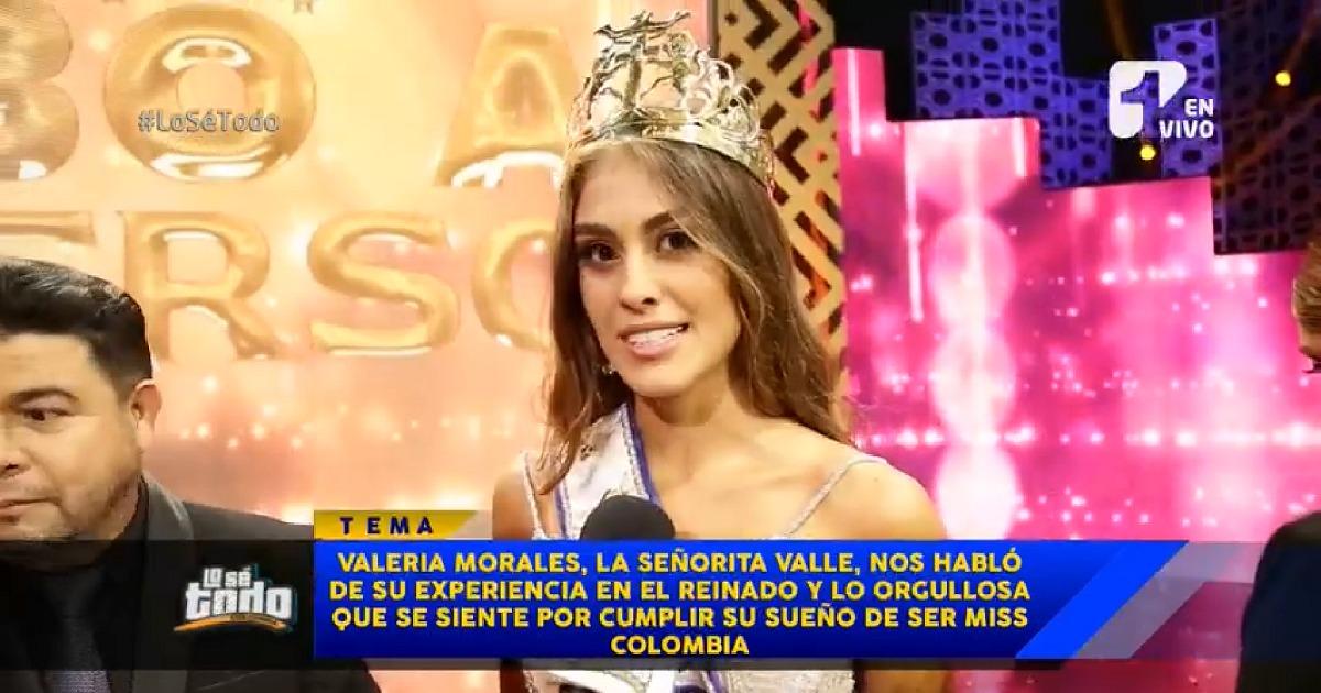 """""""Colombia soñaba con una reina que diera orgullo y eso voy a hacer"""": señorita Colombia"""