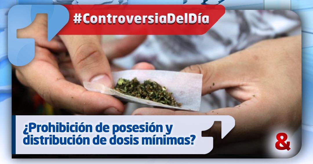 ¿Decreto que prohíbe posesión y distribución de dosis mínima sería inconstitucional e inútil?