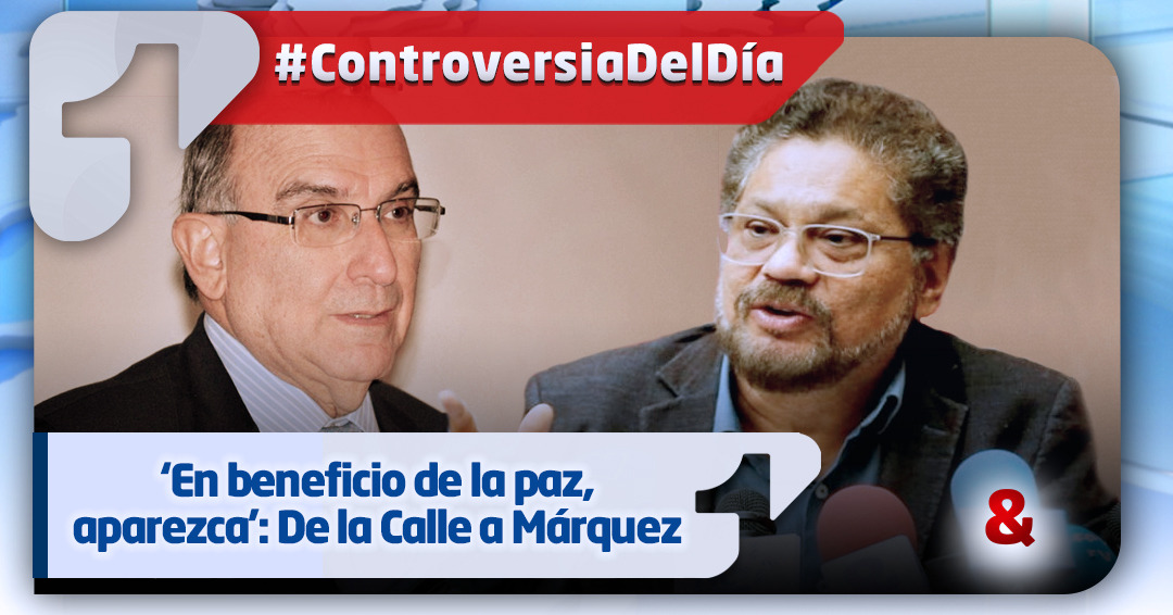 Humberto de la Calle reclama a Iván Márquez que aparezca y cumpla con sus responsabilidades
