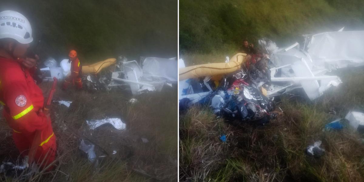 Avioneta que se accidentó en el Valle transportaba 153 kilos de cocaína