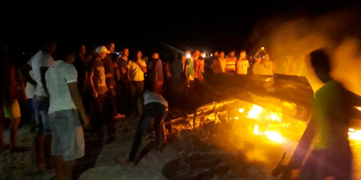 Cae avioneta cargada de cocaína, luego de cinematográfico operativo en La Guajira