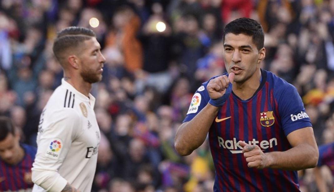 Barcelona goleó al Real Madrid con una brillante actuación de Suárez