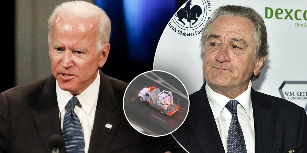 Investigan nuevos paquetes sospechosos 'dirigidos' a Joe Biden y Robert De Niro