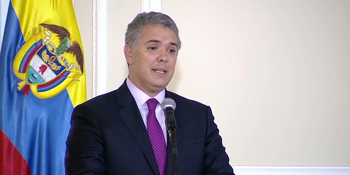 Presidente Duque pide a las cortes que trabajen en armonía sin vanidades ni politiquería