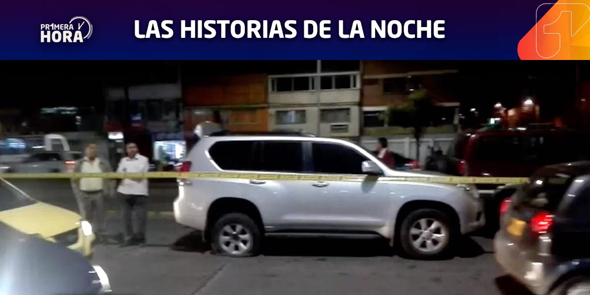 Balacera en el sur de Bogotá por intento de robo de una camioneta en Puente Aranda