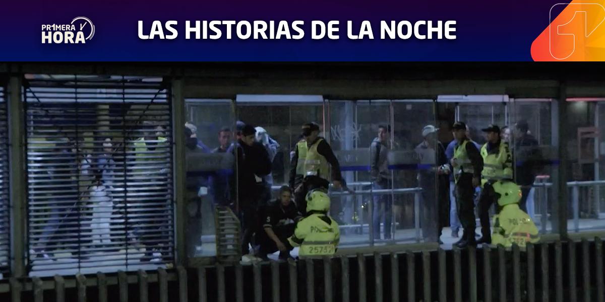 Buses y estaciones de TransMilenio afectadas tras clásico Millonarios vs. Santa Fe