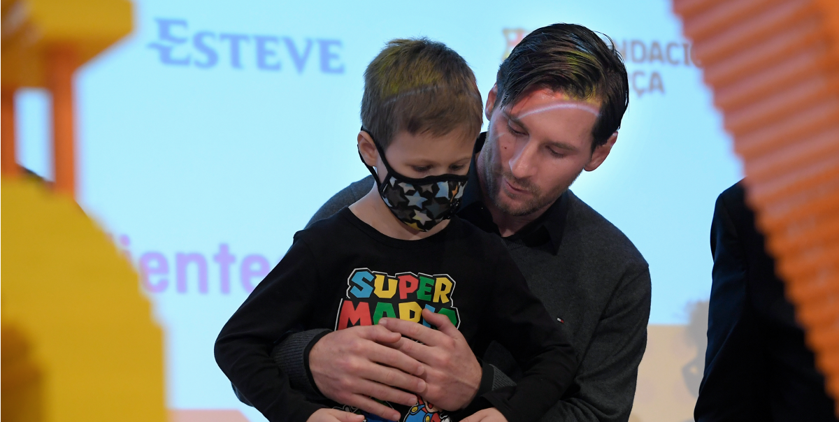 La obra benéfica de Lionel Messi que es aplaudida en todo el mundo