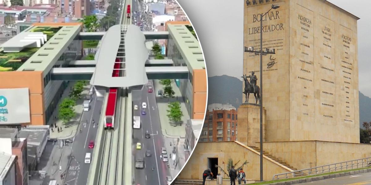 Monumento a Los Héroes será trasladado por construcción del Metro de Bogotá