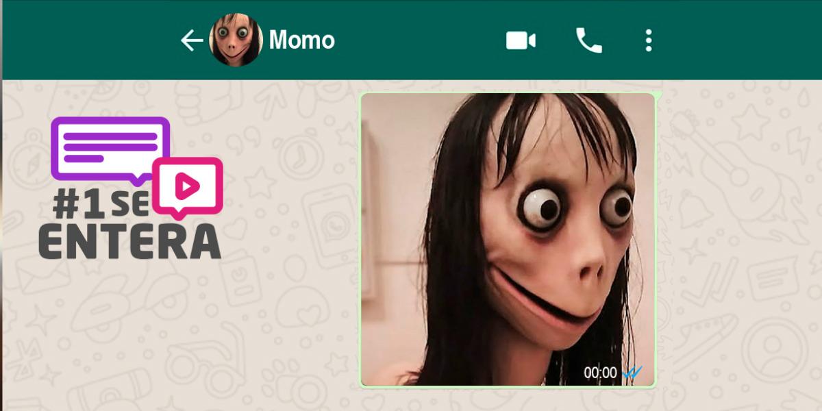 """La verdad detrás de """"Momo"""" el terror viral que circula en WhatsApp"""