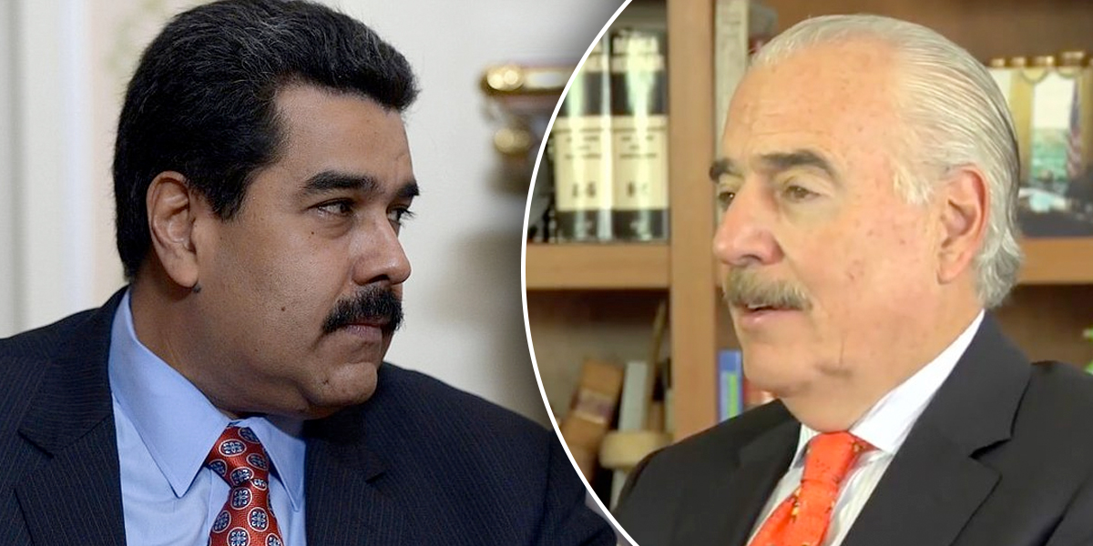 Nicolás Maduro es el 'nuevo Pablo Escobar': expdte. Andrés Pastrana