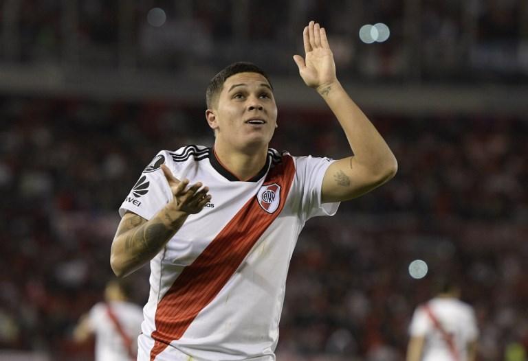 Juan Fernando Quintero será seguido por un club inglés en la final de Libertadores