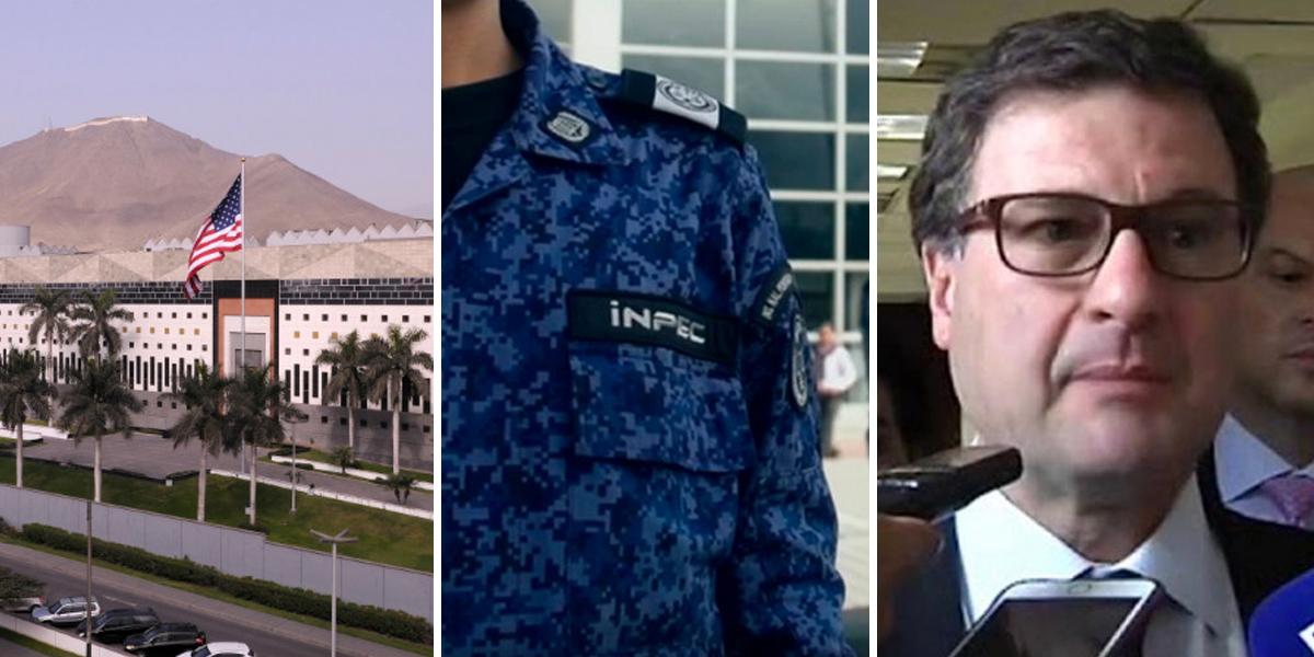 Embajada de Estados Unidos pide al INPEC protección especial para Luis Fernando Andrade