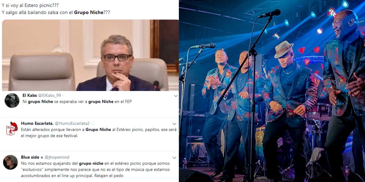 Polémica por inclusión del Grupo Niche en el Estéreo Picnic 2019