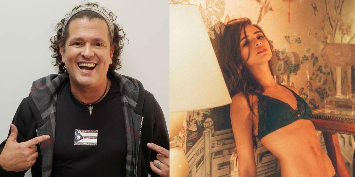 Carlos Vives confiesa lo que piensa de los desnudos de su hija Lucy