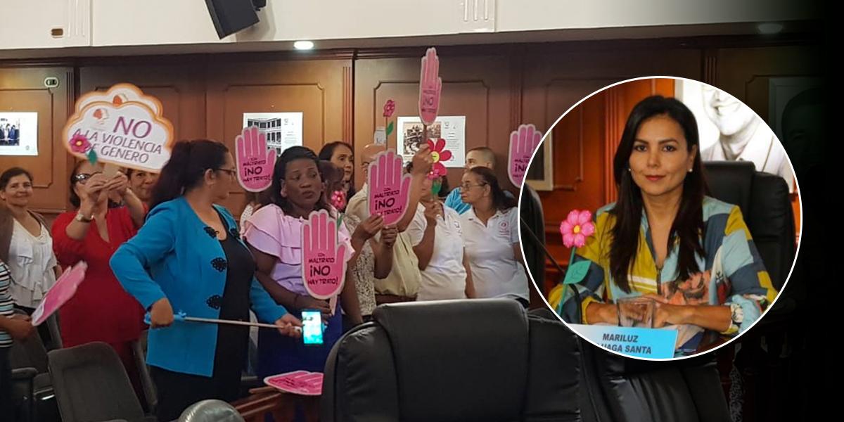 Diputada busca frenar violencia contra la mujer en el Valle del Cauca