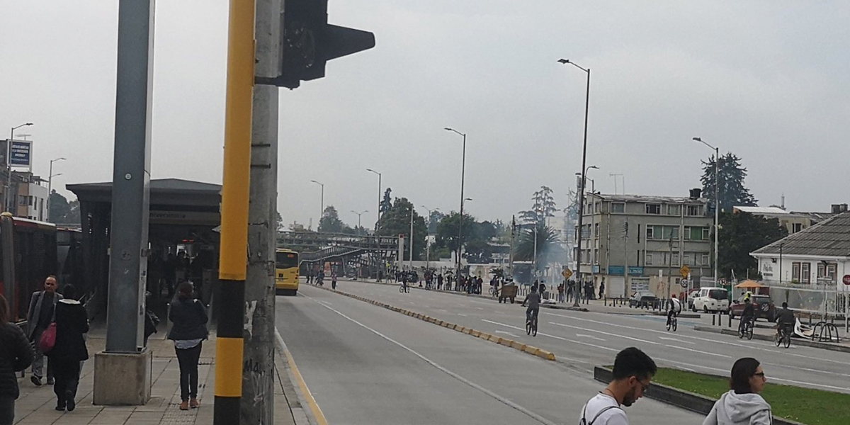 Tras disturbios, Universidad Nacional restringe ingreso a sus instalaciones