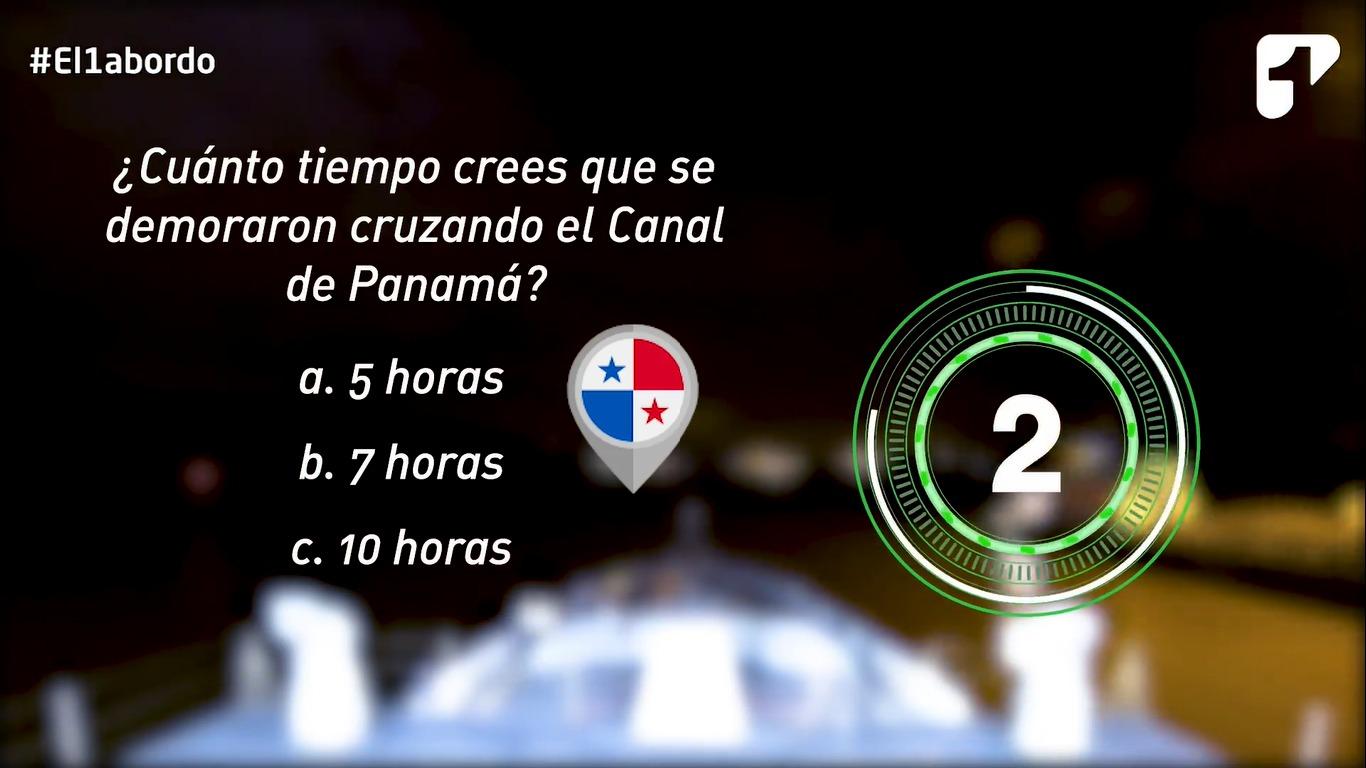 Cruzar el Canal de Panamá, una maniobra que toma precisión y tiempo