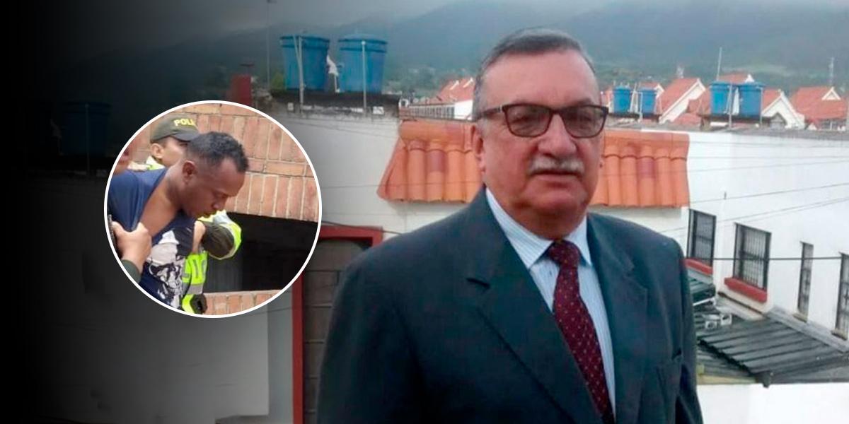 Acusan formalmente a presunto asesino del funcionario de la Gobernación de Cundinamarca