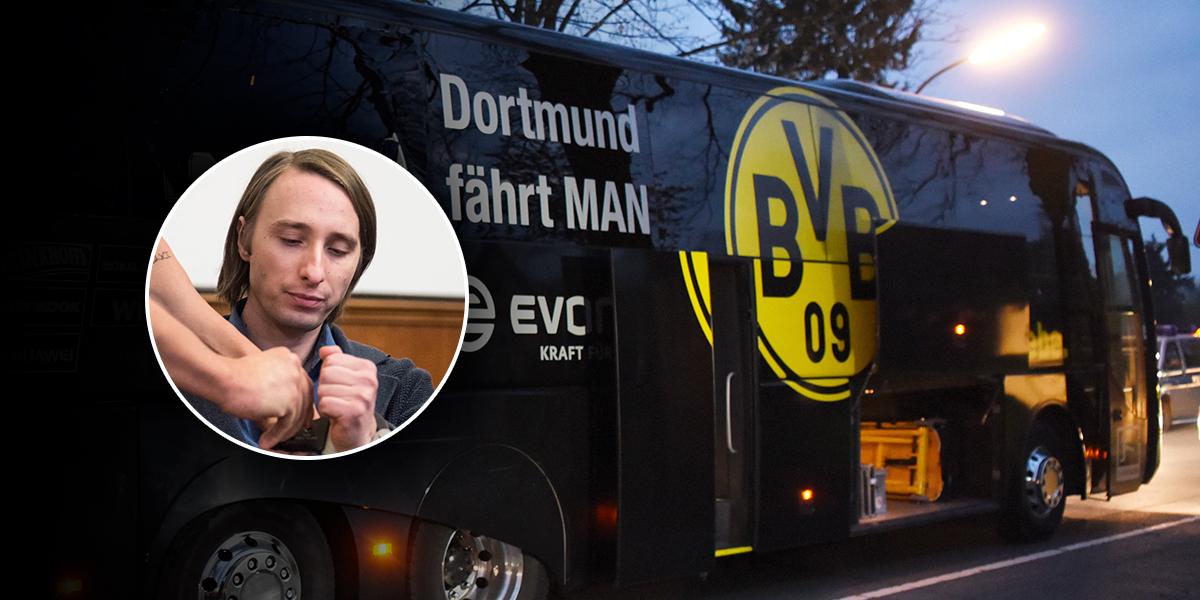 Condenan a 14 años de prisión al autor del atentado contra autobús del Dortmund