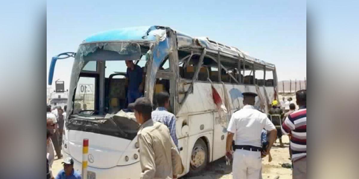 Siete muertos y 14 heridos en ataque contra cristianos en Egipto