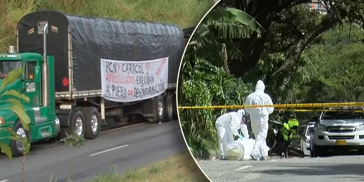 Muere camionero tras ataque con piedras en medio de protestas