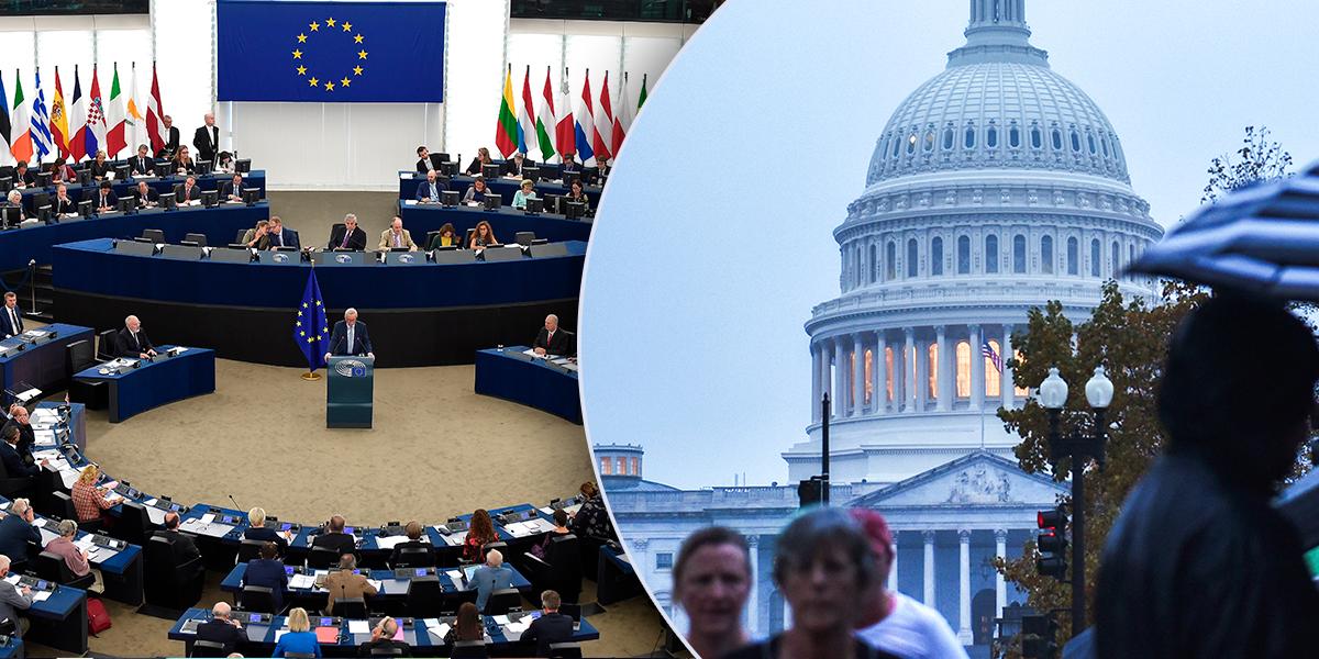 Comisión Europea manifiesta deseo de colaborar 'estrechamente' con nuevo congreso de EE.UU.