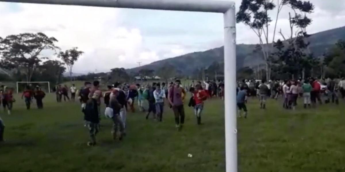 Continúa el desplazamiento masivo en el Catatumbo