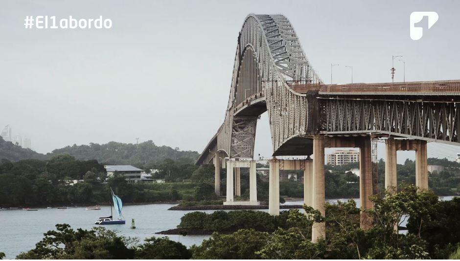 Emoción y orgullo: lo que sienten los tripulantes del buque ARC 20 de Julio al cruzar el Canal de Panamá