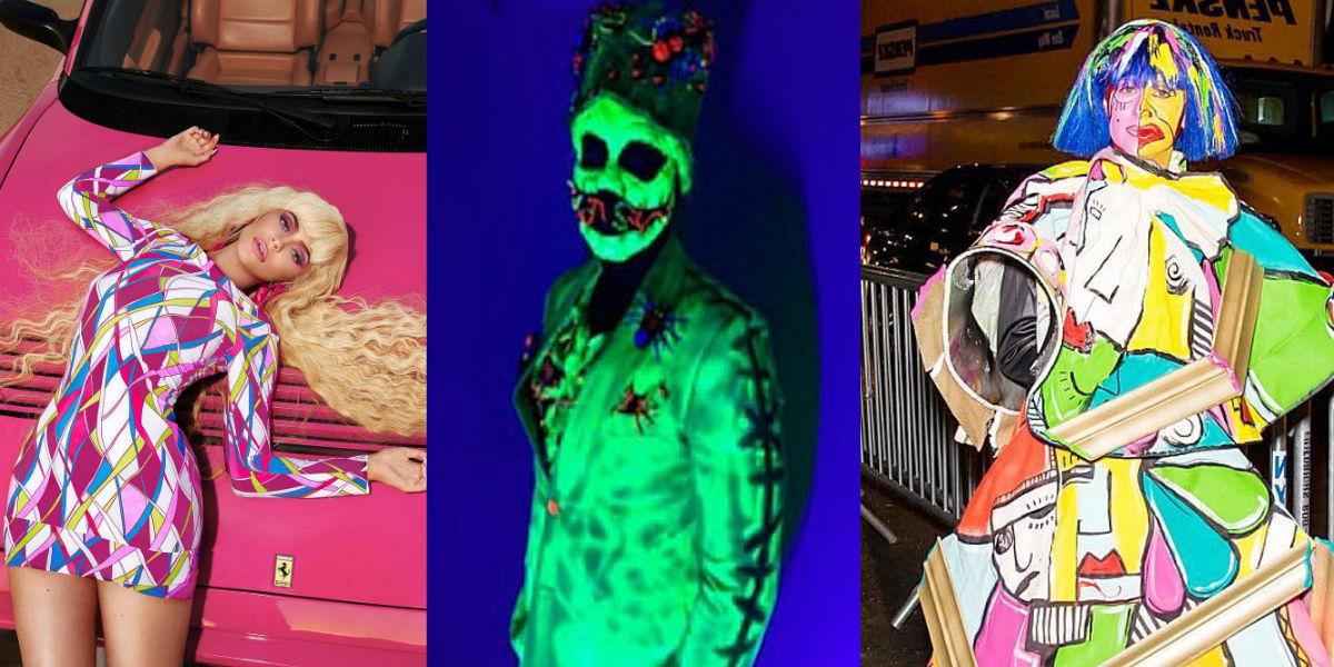 Los disfraces de los famosos que más impactaron en las redes