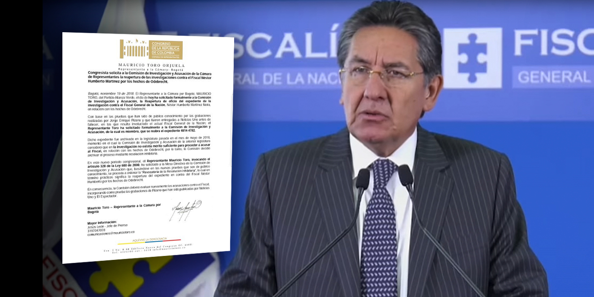 Solicitan reabrir investigaciones contra fiscal Martínez por caso Odebrecht