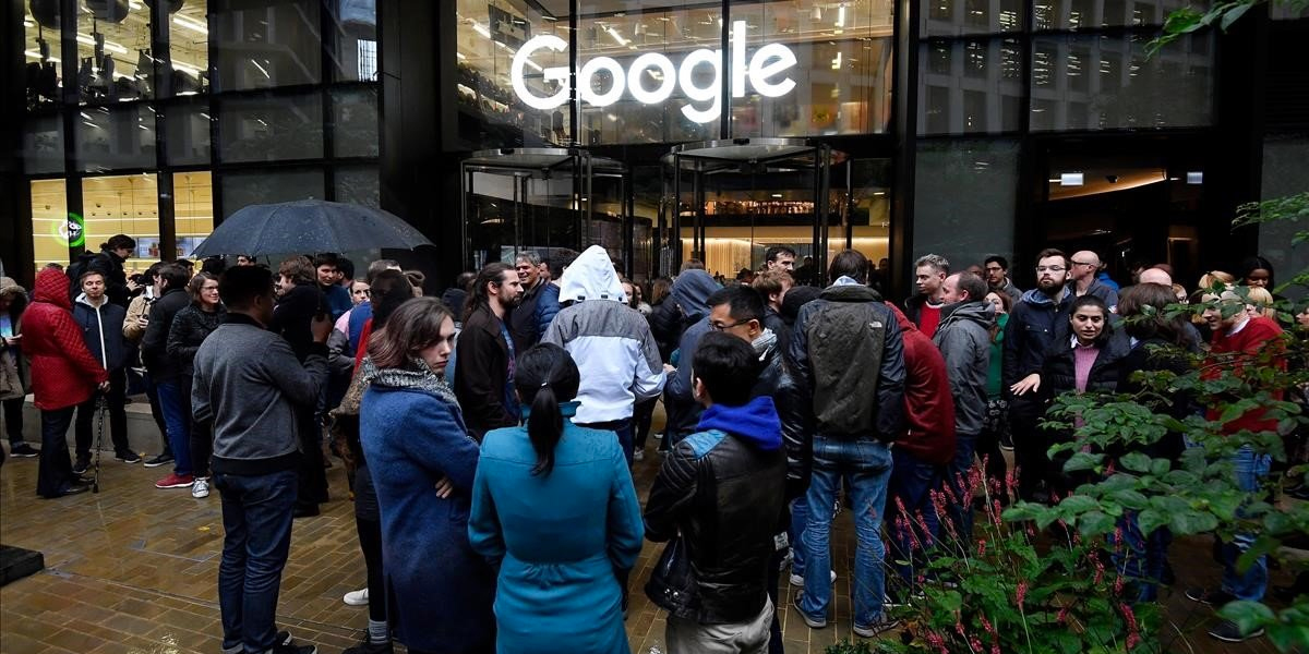 Protesta mundial contra Google por acoso sexual