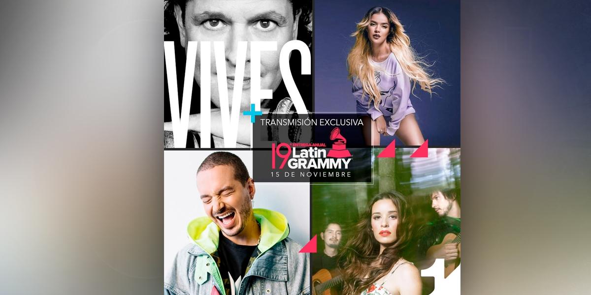 Canal 1, el canal de los Latin Grammy