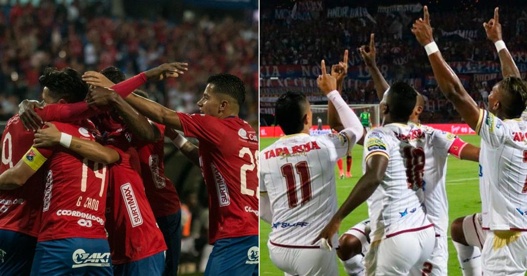 Medellín y Tolima empatan en juego de ida de semifinales de Liga Águila II